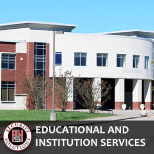Educational and Institution Security Services