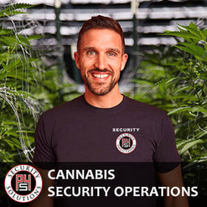 Dispensary and Cultivation Center Security - P4 Solutions